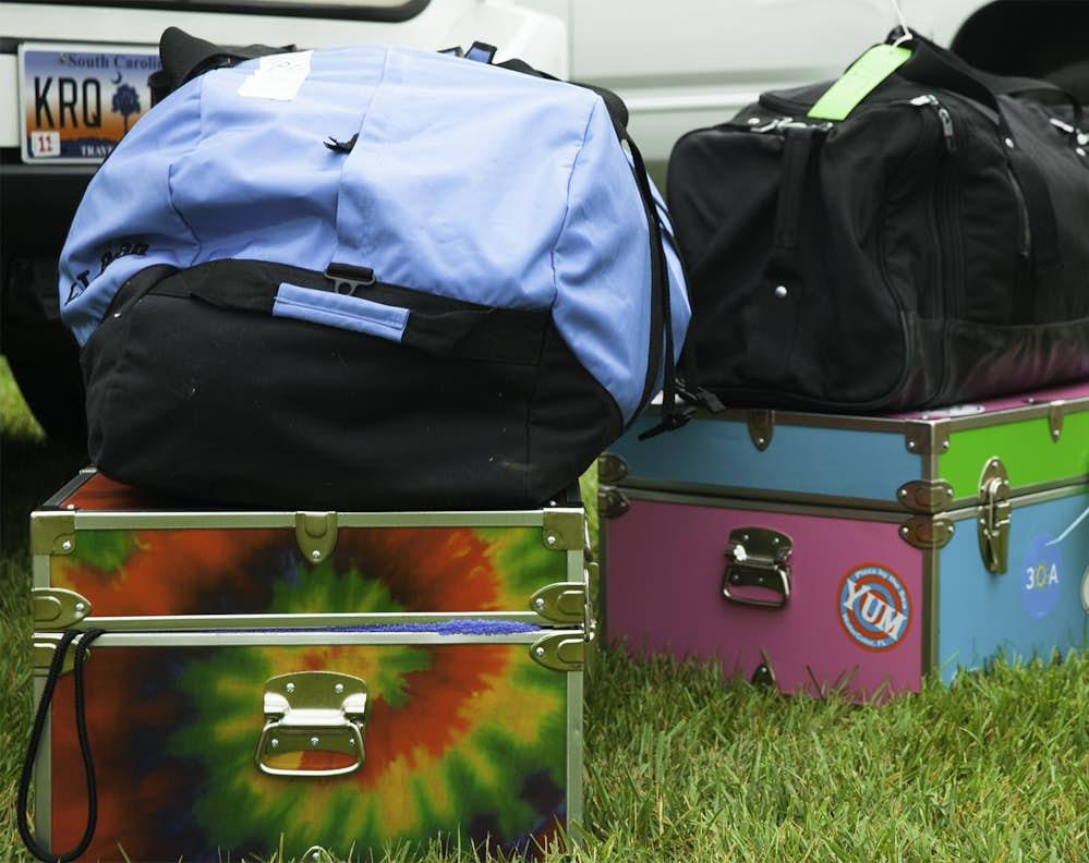 Camper Luggage At Greystone