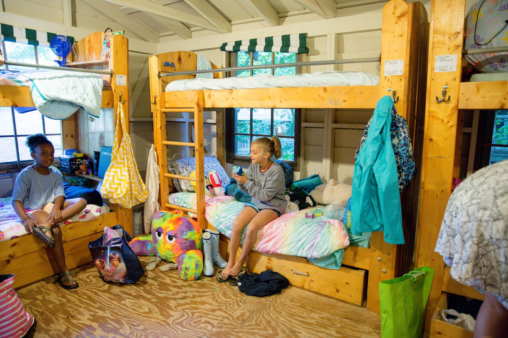 Camp Cabins Bunks And Counselors At Greystone For Girls