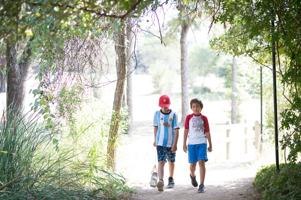 Two boys hiking through the woods.jpg?ixlib=rails 2.1