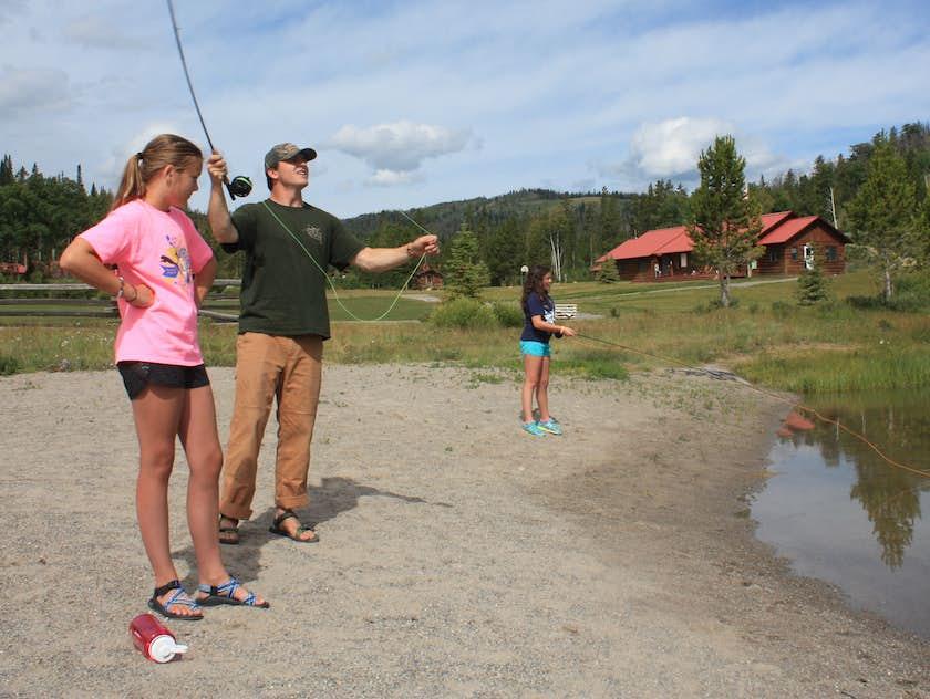 Fly Fishing Teton Valley Ranch Camp
