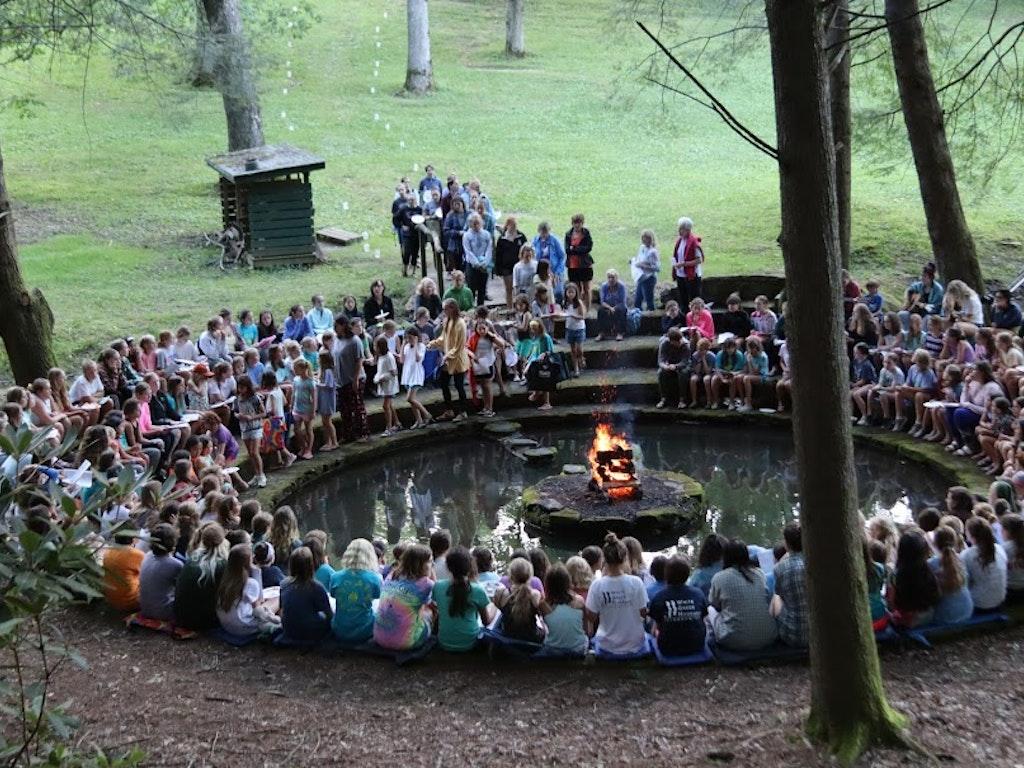 First Ever Virtual Campfire