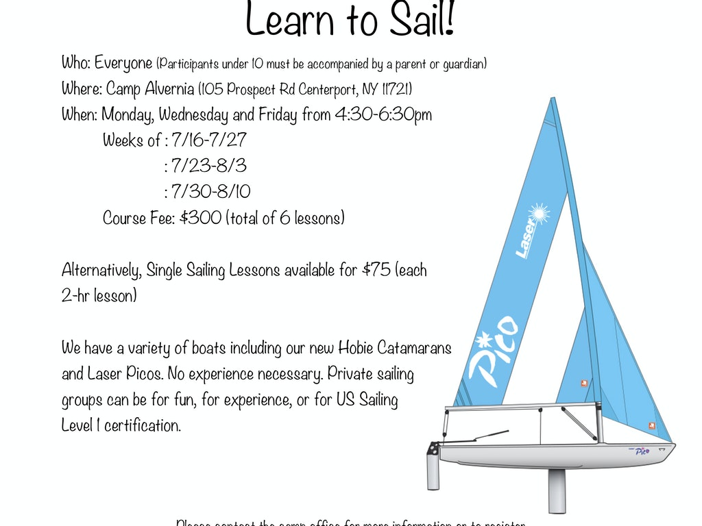 Learn to Sail!