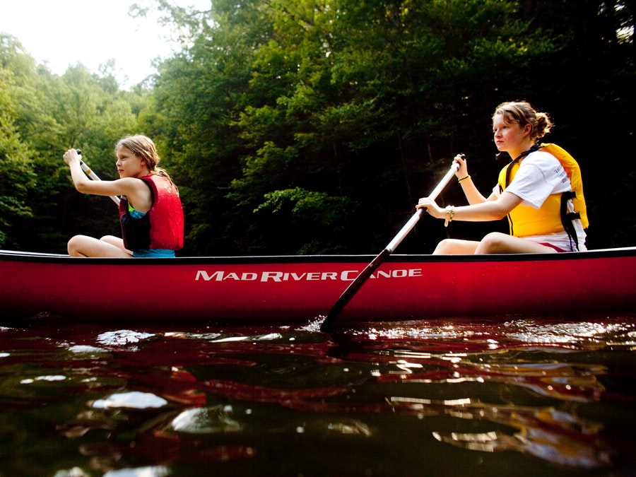 Canoeing up river at keystone camp for girls.jpg?ixlib=rails 2.1