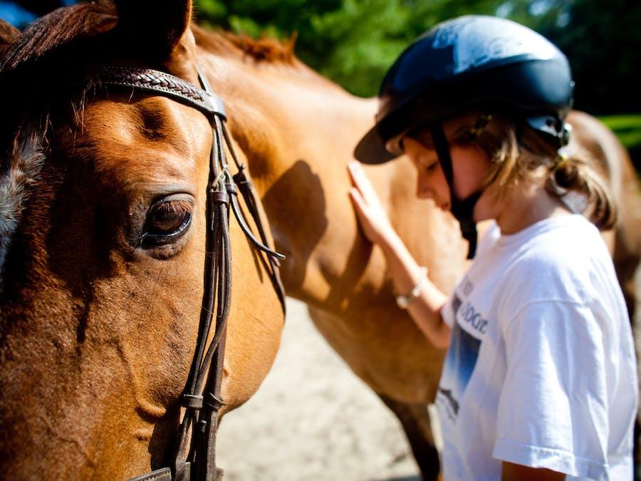 Horsemanship at keystone camp for girls.jpg?ixlib=rails 2.1
