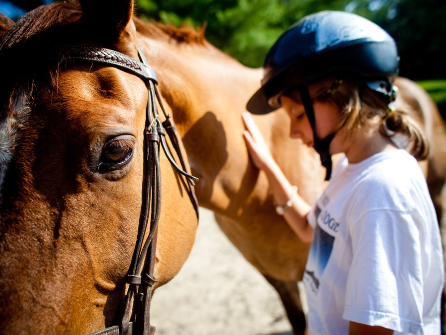 Horsemanship at keystone camp for girls.jpg?ixlib=rails 2.1