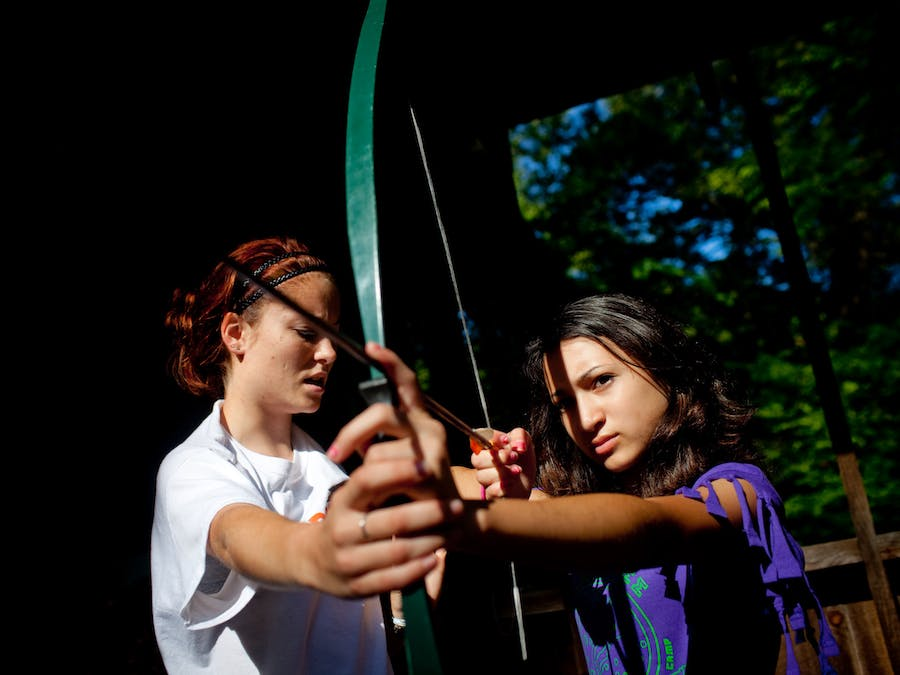 Archery instruction at keystone camp for girls.jpg?ixlib=rails 2.1