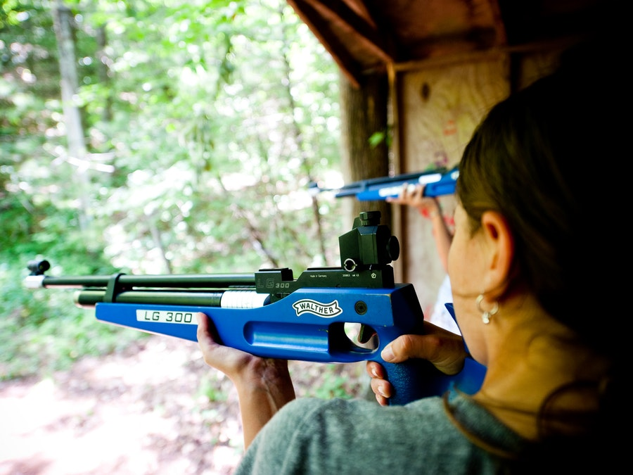 Aiming down the sights at keystone camp for girls.jpg?ixlib=rails 2.1