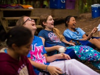 Laughing at keystone summer camp for girls in north carolina.jpg?ixlib=rails 2.1
