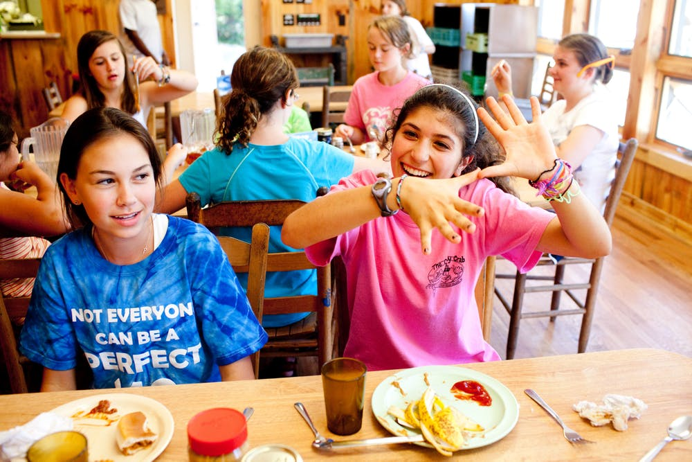 Fun eating at keystone summer camp for girls in north carolina.jpg?ixlib=rails 2.1