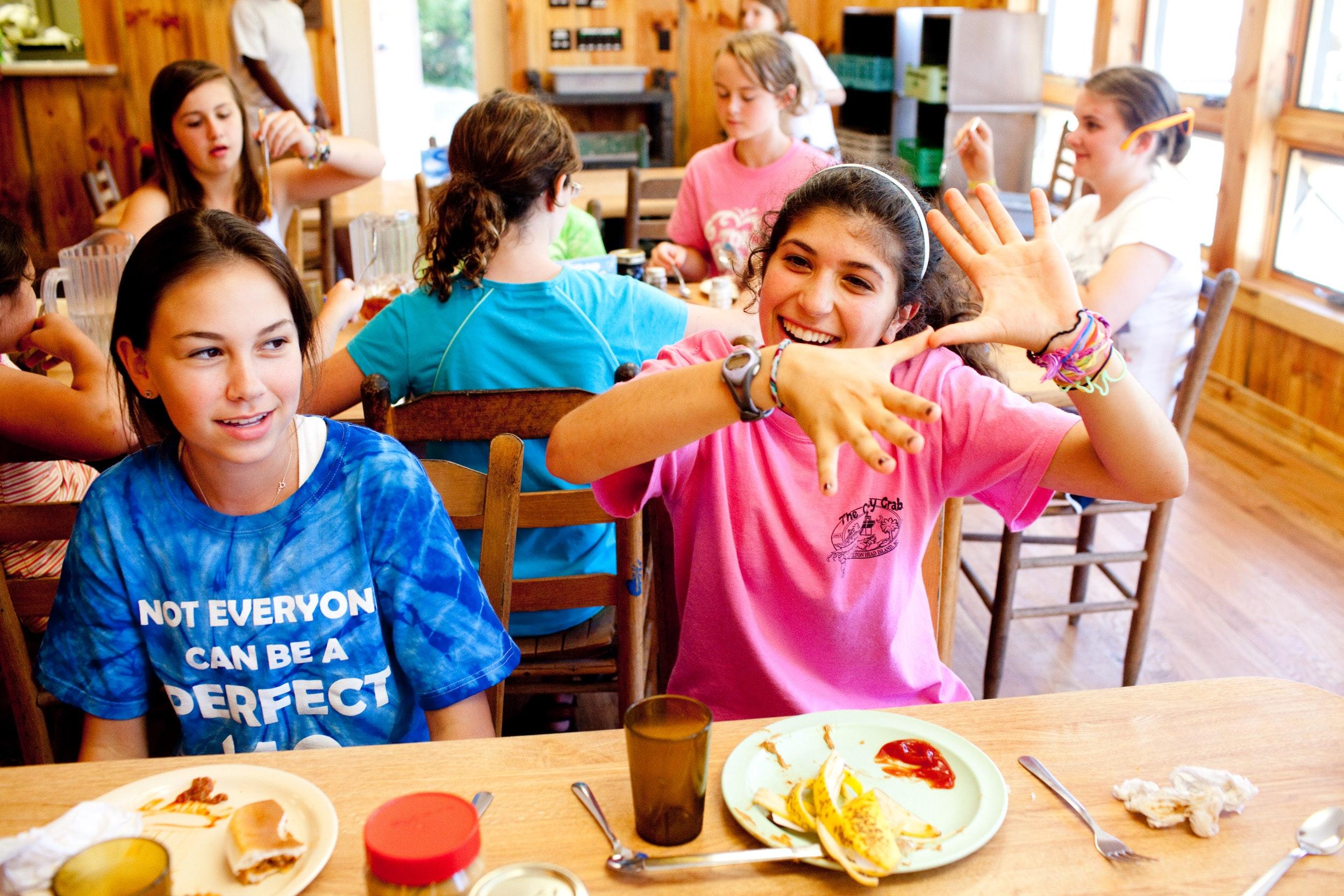 Fun eating at keystone summer camp for girls in north carolina.jpg?ixlib=rails 2.1