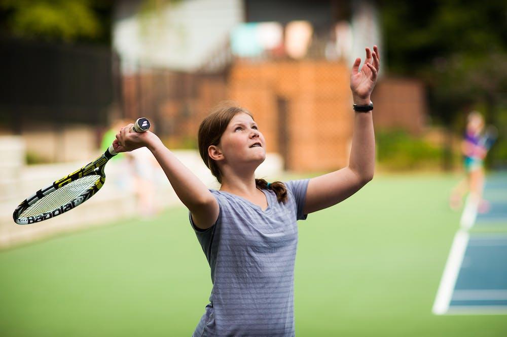 Serving an ace at keystone summer camp for girls in north carolina.jpg?ixlib=rails 2.1