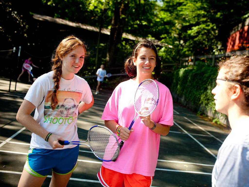Badminton at keystone summer camp for girls in brevard north carolina.jpg?ixlib=rails 2.1