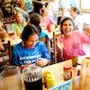 Lunch time at keystone summer camp for girls in north carolina.jpg?ixlib=rails 2.1
