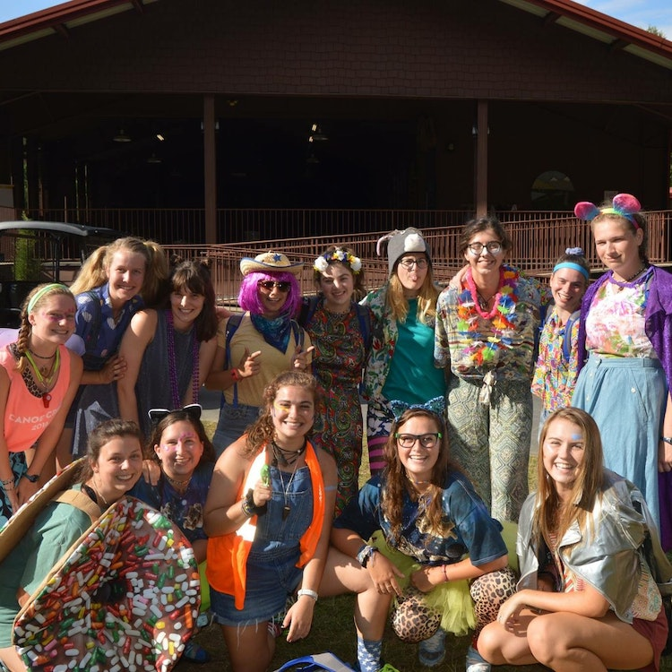 A camp counselor finds happiness and valuable lessons in her work with girls at Keystone Camp.