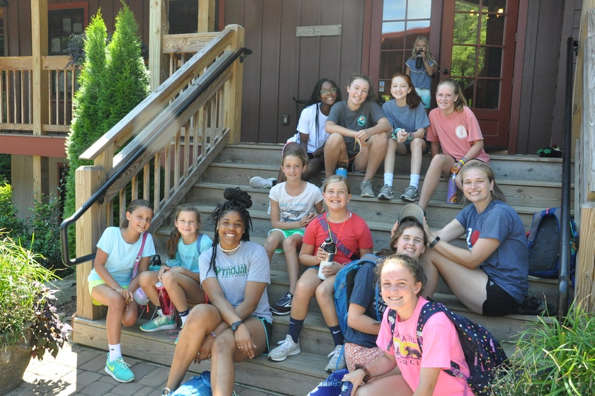 Tips for overcoming homesickness at Keystone Camp, an overnight summer camp for girls.