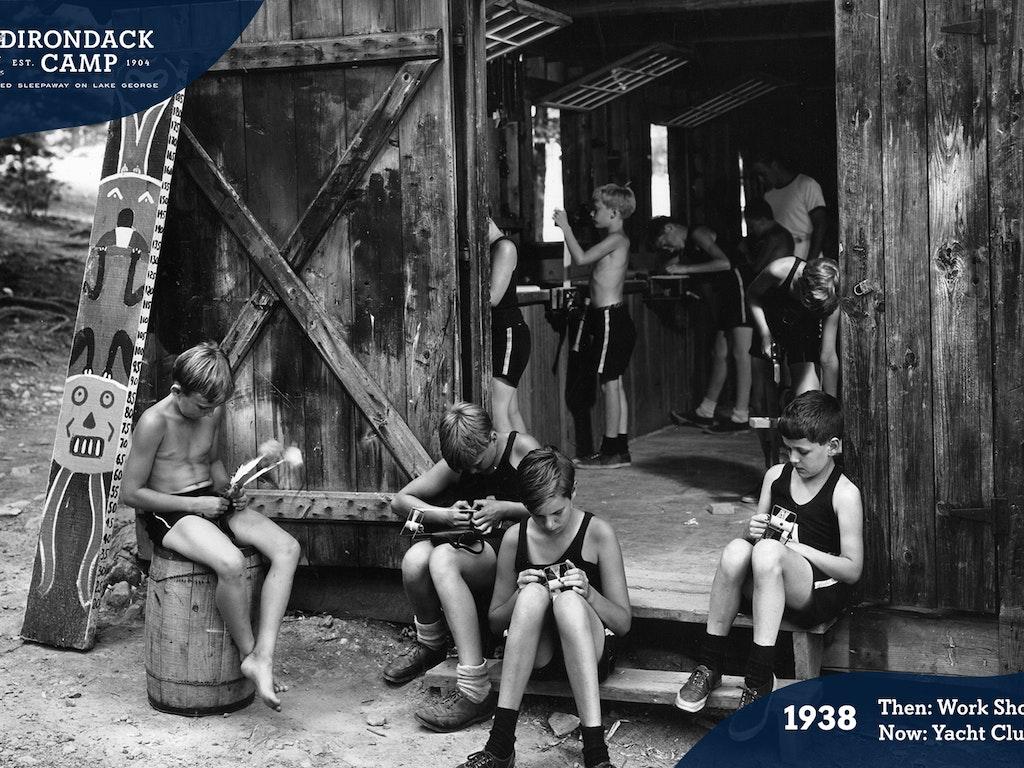 Yacht Club Building History
