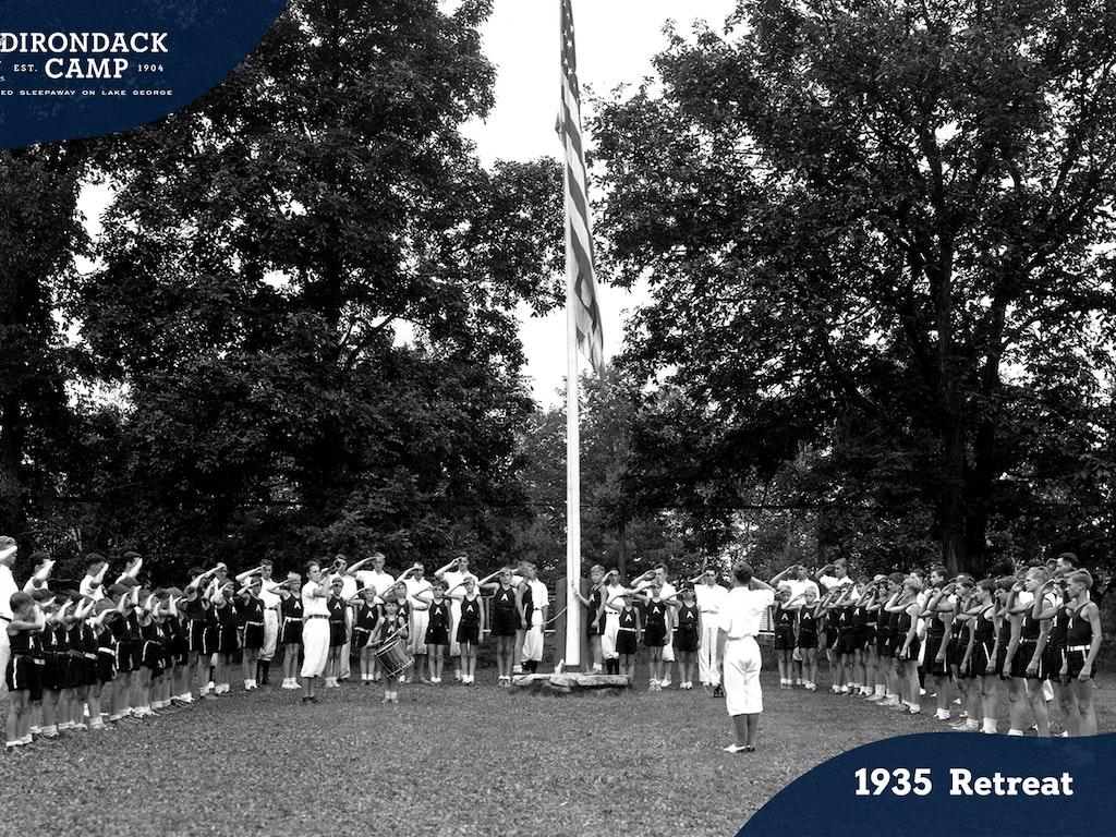 Retreat Ceremony History at Adirondack Camp