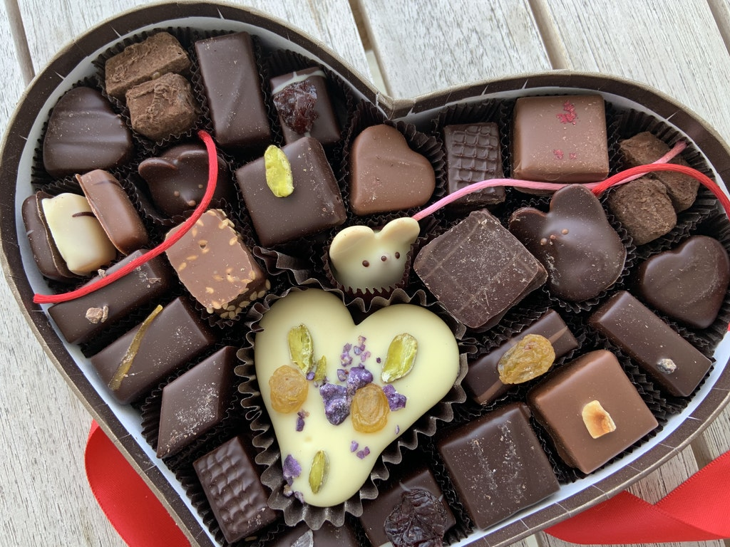Sending Love and Chocolate from ADK