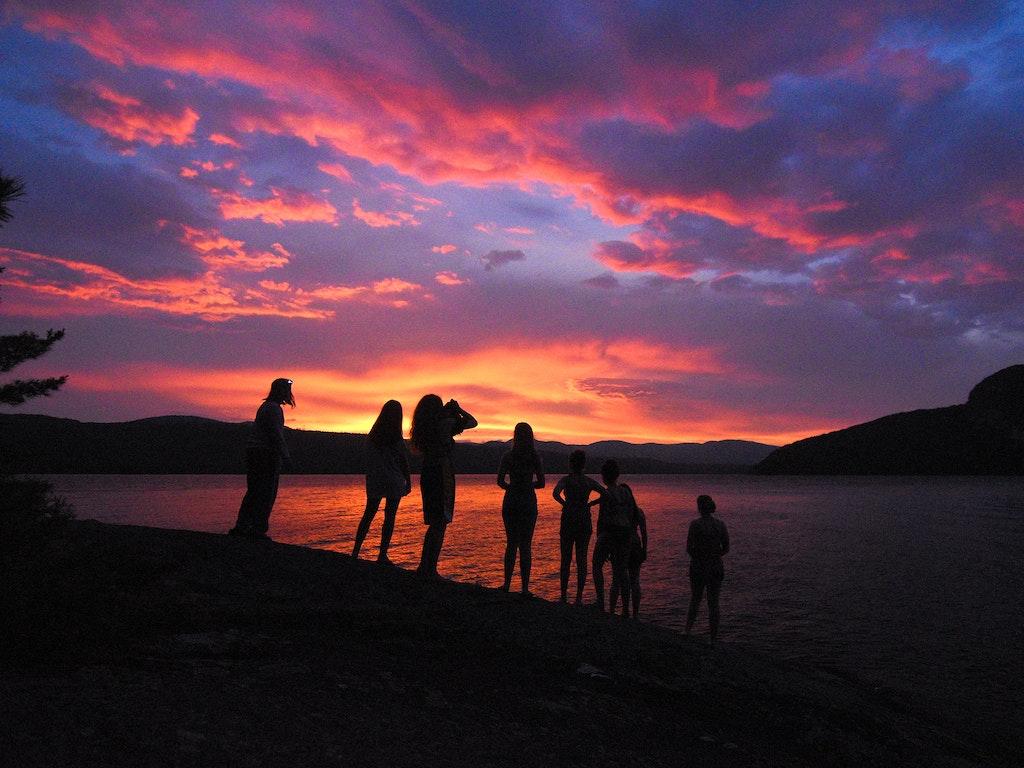 Sunsets at Camp