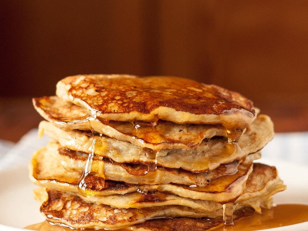 Two-Ingredient Easy Banana Pancakes