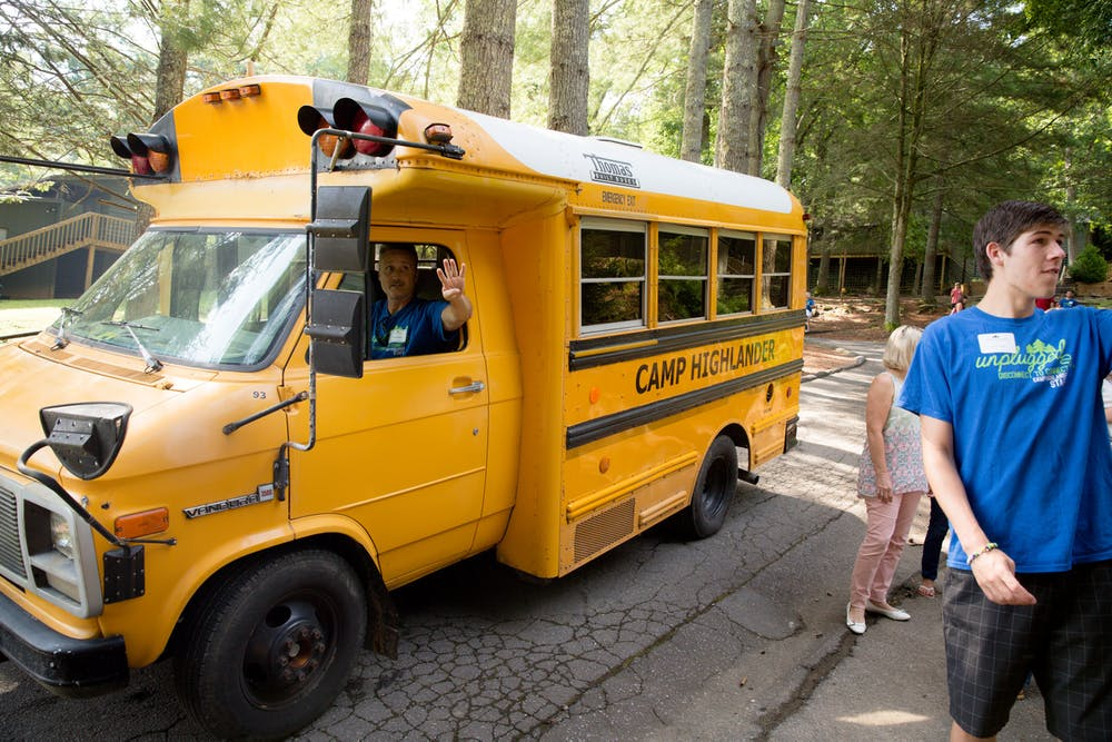 Shuttle bus at highlander summer camp for boys and girls.jpg?ixlib=rails 2.1