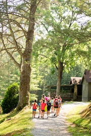 Campers walking through highlander coed summer camp in north carolina.jpg?ixlib=rails 2.1