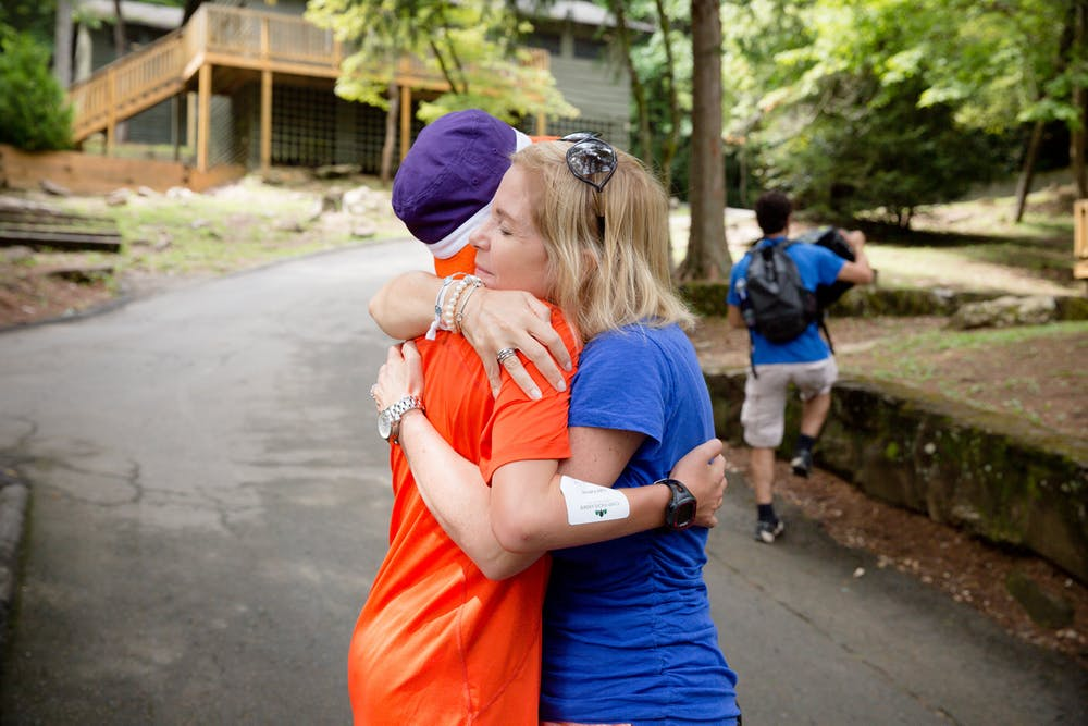 Saying goodbye at camp highlander coed summer camp in north carolina.jpg?ixlib=rails 2.1