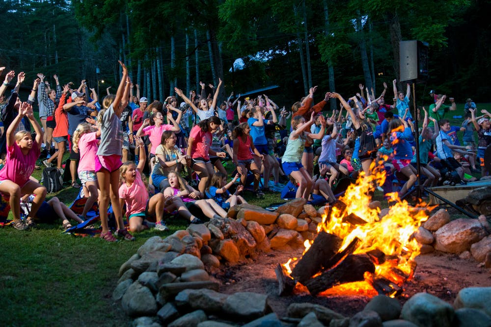 Alumni at camp highlander coed summer camp in north carolina.jpg?ixlib=rails 2.1