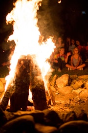 Campfires at camp highlander coed summer camp in north carolina.jpg?ixlib=rails 2.1