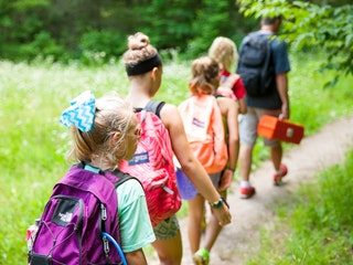 Hiking through camp highlander coed summer camp north carolina.jpg?ixlib=rails 2.1