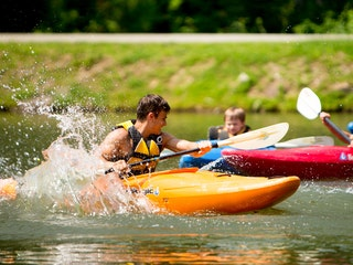 Kayaking at highlander coed summer camp north carolina.jpg?ixlib=rails 2.1