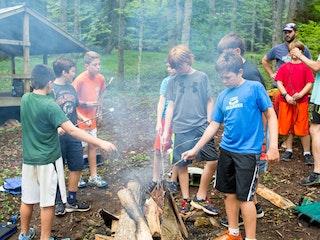 Smores at highlander coed summer camp north carolina.jpg?ixlib=rails 2.1