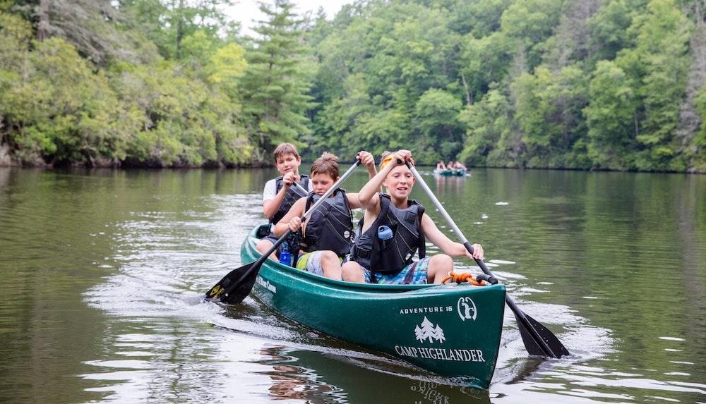 Conoe trip at highlander summer camp for boys and girls in north carolina.jpg?ixlib=rails 2.1