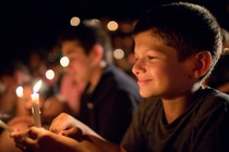 Lit candles at highlander summer camp for boys and girls in north carolina.jpg?ixlib=rails 2.1
