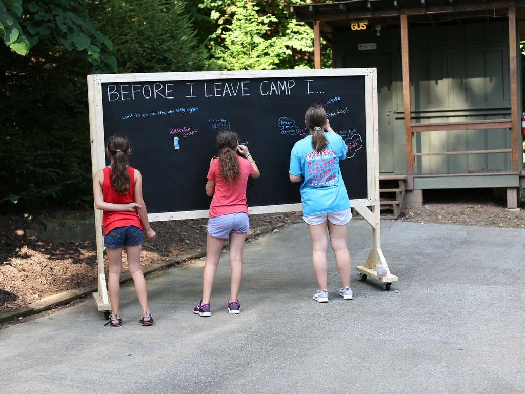Opening Day Session A: Before I Leave Camp I...