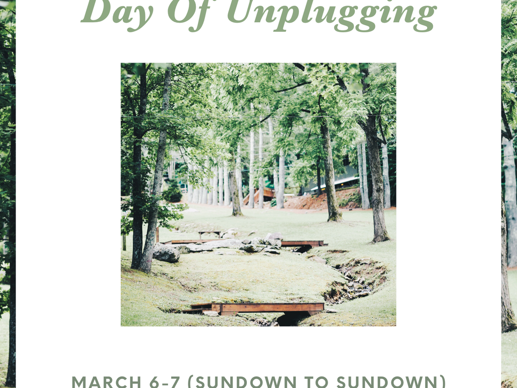 (CH)allenge Yourself: Celebrate the National Day of Unplugging!
