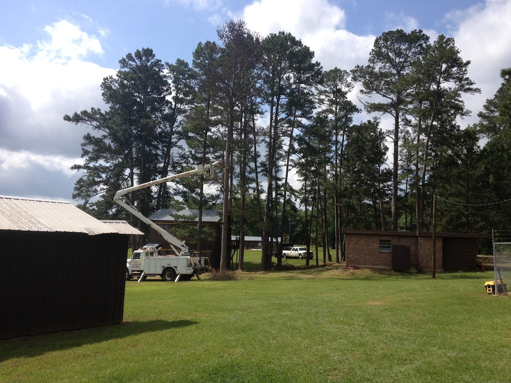 Camp Update: Bunks, Trees, Low Ropes, and Leadership