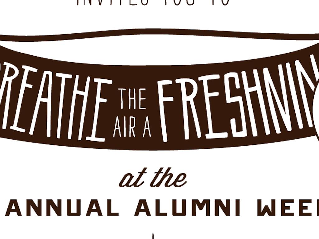 Alumni Weekend April 12-14