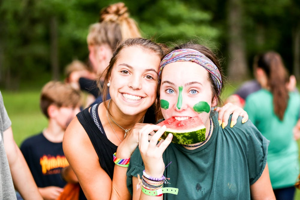 Bestsummercamps texas overnight sleepaway youth play camphuawni watermelon.jpg?ixlib=rails 2.1