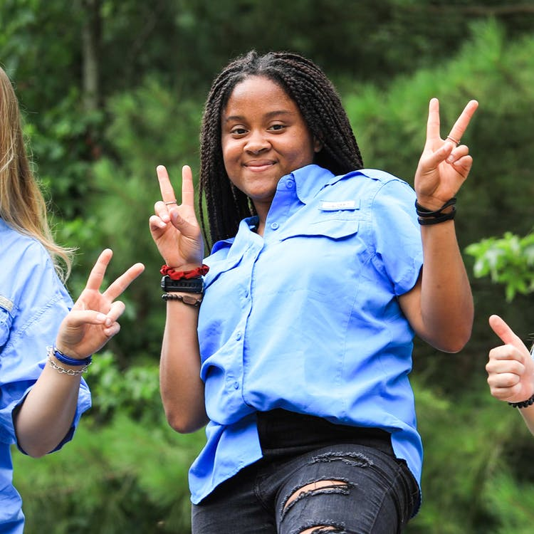 Camp huawni best summer overnight camp texas youth outdoors play fun 2021 staff counselor ceecee goins.jpg?ixlib=rails 2.1