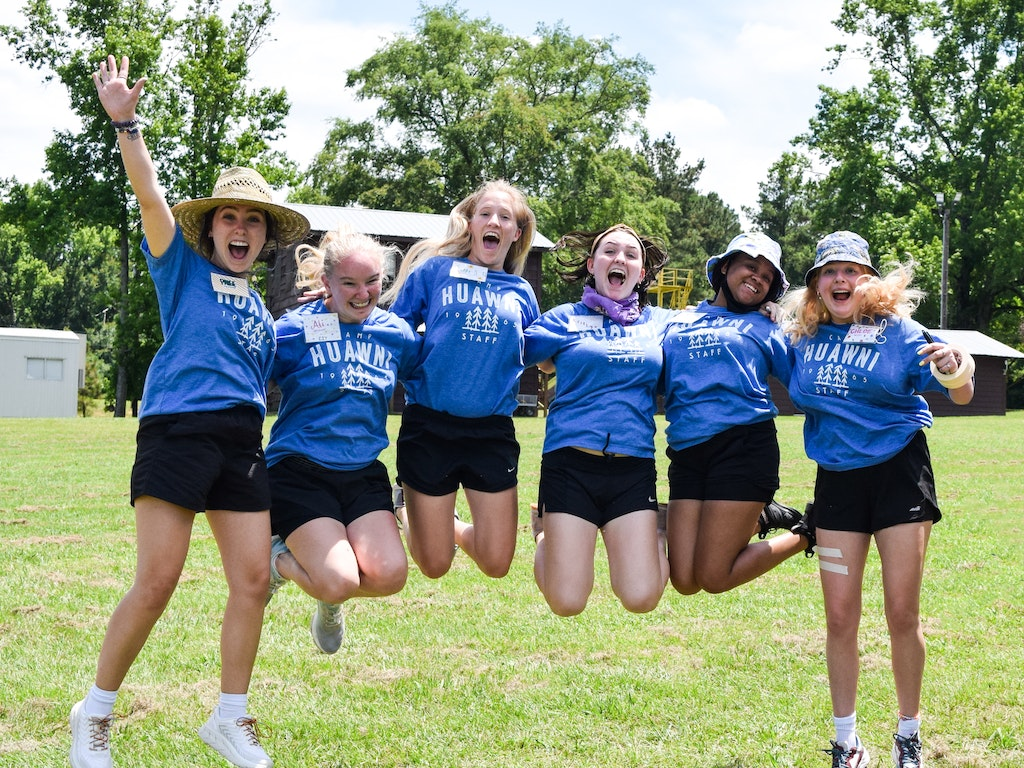 Work, Play, and Change Lives at Camp Huawni