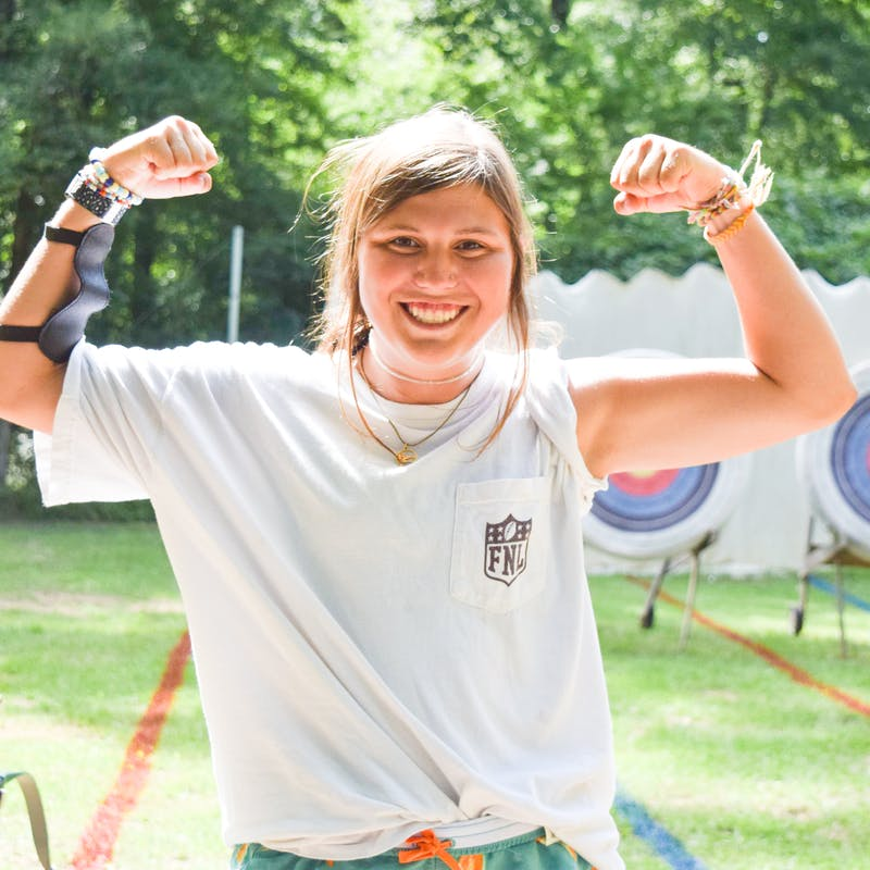 Camp huawni best summer overnight camp texas youth outdoors play fun 2021 staff counselor emily malone.jpg?ixlib=rails 2.1