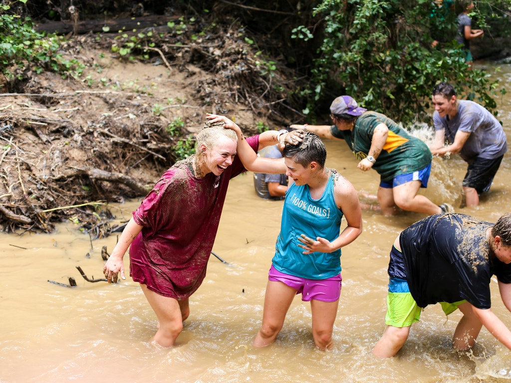 Hiking, Mud Fighting, and Storytelling - Oh My!