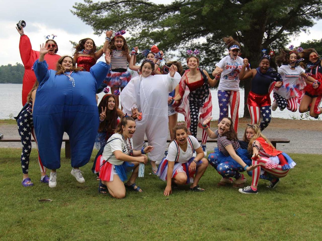 Raquette Lake Camps Family Night July 4th Celebration