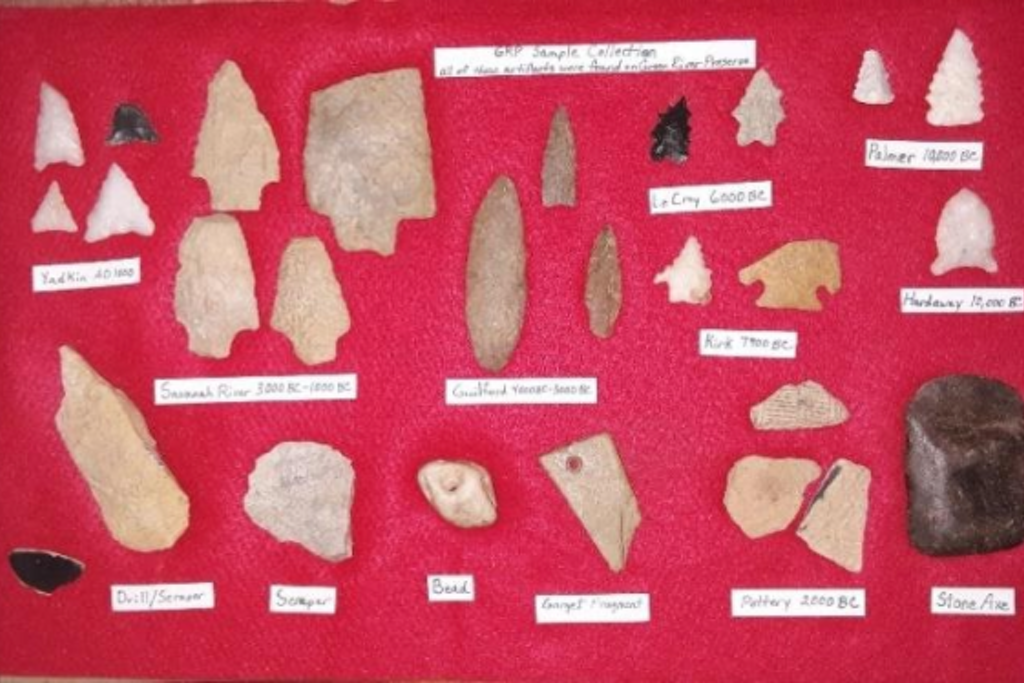 Archaeology at Green River Preserve