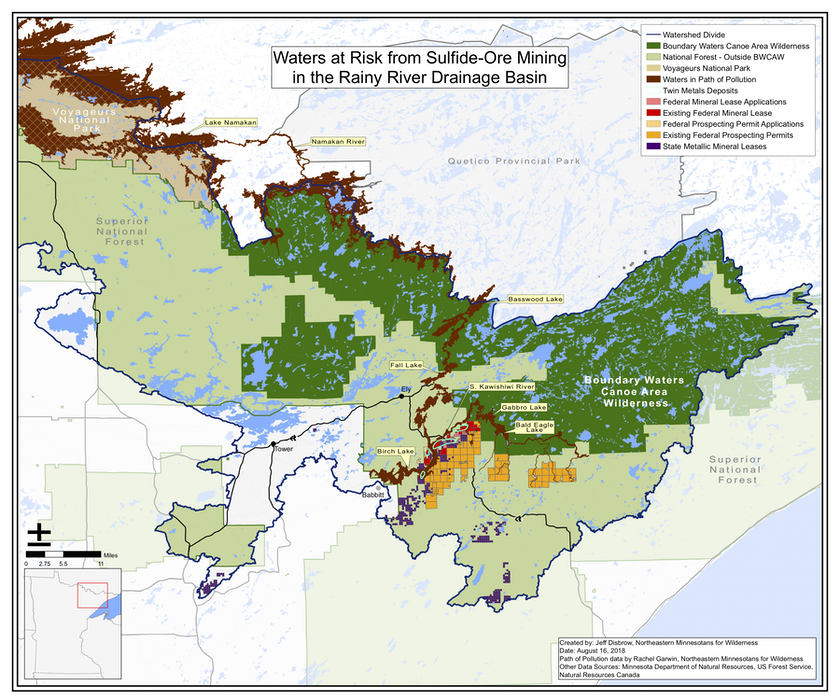 Save the BWCA from Sulfide Mining | 2019 | Camp Voyageur