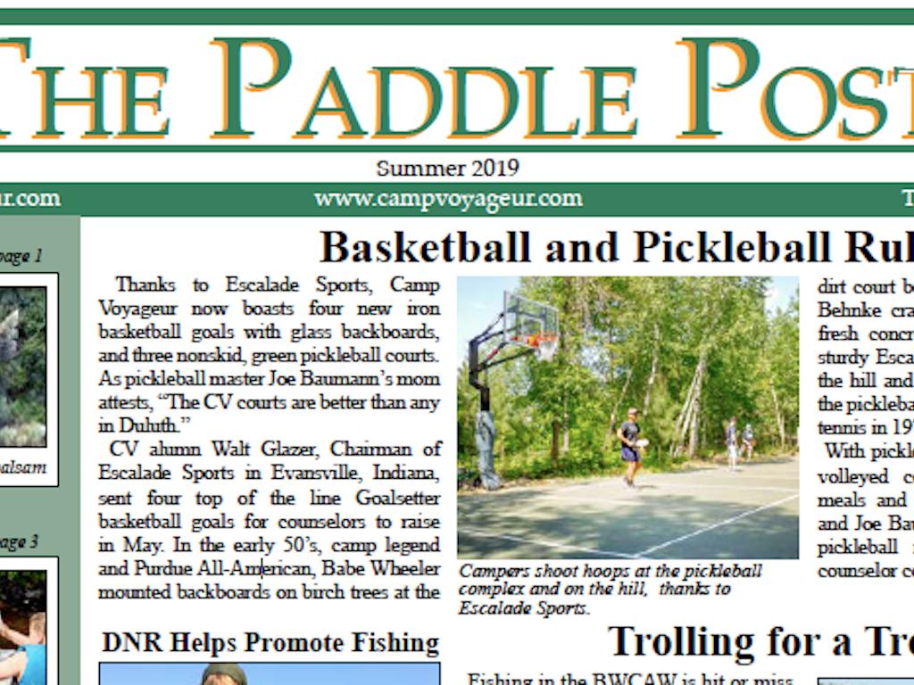 2019 Paddle Post
