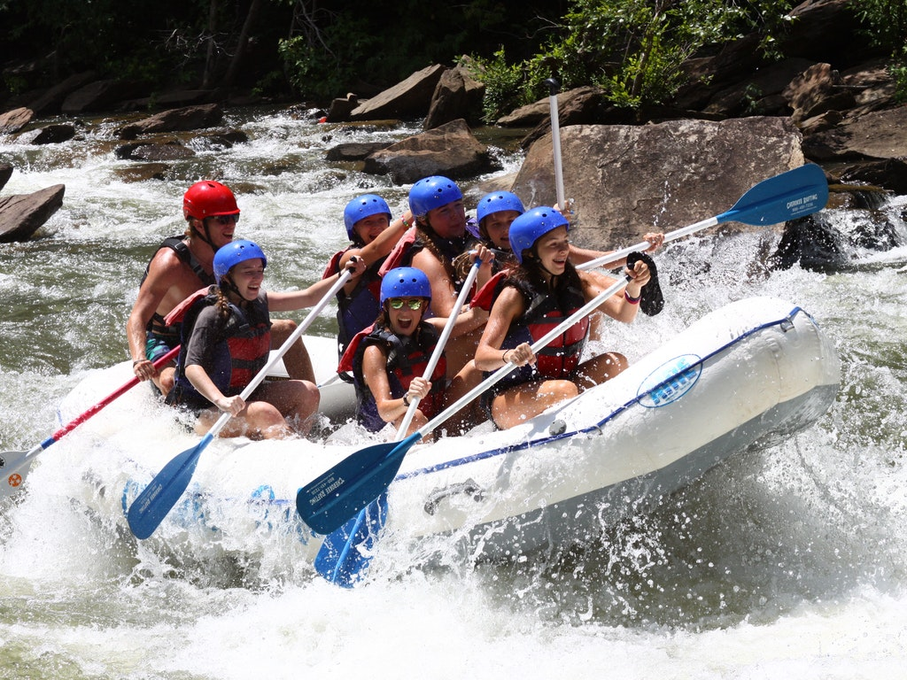 Ocoee Whitewater Rafting Trip!