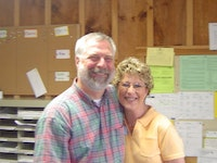 Donnie and kim bain in 2005 in the program office  photo from lori beese.jpg?ixlib=rails 2.1